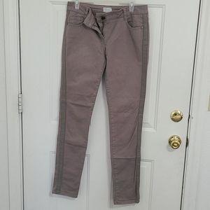Nice cotton leather pants Motivi